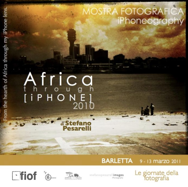 Mostre fotografiche a Barletta. AFRICA THROUGH iPHONE per il FIOF.