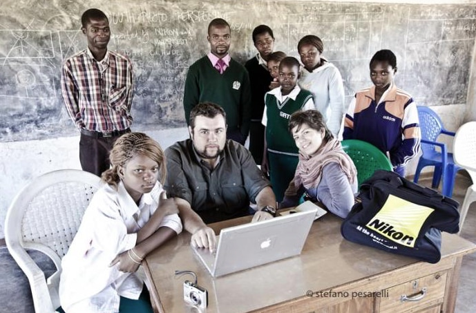 Laboratorio di fotografia per ragazzi Youth Photo Perspective: oggi si scatta a Lilongwe la capitale del Malawi.