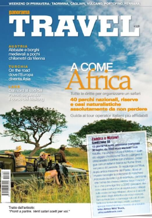 Panorama Travel i safari di Africa Wild Truck Tour Operator
