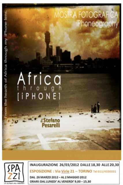 Africa through iPhone. In mostra e poi all'asta. Africa Wild Truck fotografia